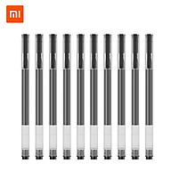 10 cây bút mực Xiaomi Gel Pens 0.5mm với khoang chứa mực rộng chống lem chống tắc thumbnail