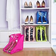 Túi đựng giày boot cao cổ có khóa kéo và quai đeo tiện lợi, túi dày dặn giúp bảo quản giày không bị bụi bám, côn trùng cắn, cất giữ giày sắp xếp gọn gàn ngăn nắp thumbnail