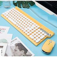 Bộ bàn phím và chuột không dây LT500 phiên bản sạc, tặng kèm lót chuột - Hàng Nhập Khẩu thumbnail