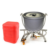 Bếp gas mini du lịch gập gọn tiện lợi an toàn chất lượng sử dụng đa năng (không kèm gas) BB7132 thumbnail