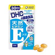 Viên uống DHC Natural Vitamin E - Chô ng la o ho a, gia m thâm, gia m mu n, gia m viêm da, tre ho a la n da thumbnail