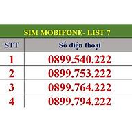 Sim số đẹp MobiFone - Số dạng tam hoa 222 - Chọn Số Theo List MB07 - Hàng Chính Hãng thumbnail