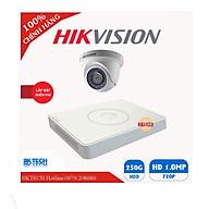 Combo bộ 1 camera giám sát hikvision hd- hàng chính hãng thumbnail