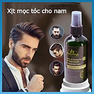 Xịt mọc tóc nhanh tinh dầu vỏ bưởi Tabaha 120ml dành cho Nam giới bị rụng tóc, tóc thưa thumbnail