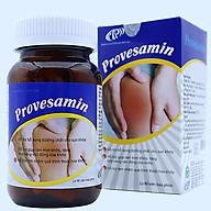Viên bổ khớp Provesamin - Bổ sung glucosamine, sụn vi cá mập - Tái tạo, nuôi dưỡng sụn khớp và giảm khô khớp, cải thiện vận động, sự linh hoạt cho khớp. Lọ 90 viên. SP đạt chuẩn GMP WHO. thumbnail