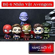 [6 Nhân Vật ] Bộ mô hình đồ chơi 6 nhân vật siêu anh hùng Avengers CosBaby Siêu Đẹp , mô hình trang trí nhựa - hàng nhập khẩu thumbnail