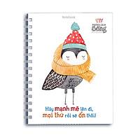 Sổ Lò Xo Notebook - Hãy Mạnh Mẽ Lên Đi