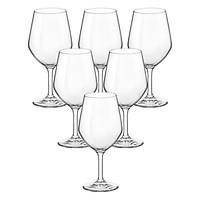 Bộ 6 Ly Rượu Thủy Tinh Verso Bormioli Rocco 391710B25121990 (400ml / Ly)
