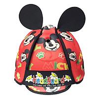 Mũ Bảo Vệ Đầu Cho Bé Headguard Mickey Đỏ