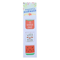 Bộ 3 Bookmark Nam Châm Kính Vạn Hoa - Summer Fruits: Watermelon