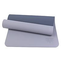 Thảm Tập Yoga TPE 2 Lớp ZERA-6MM-2L-XAM - Xám