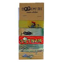 Bộ 5 Bookmark Nam Châm Kính Vạn Hoa - Tôi Yêu Việt Nam