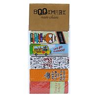 Bộ 5 Bookmark Nam Châm Kính Vạn Hoa - Back To School