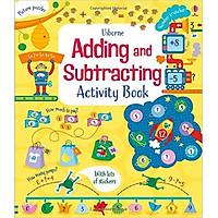 Sách tương tác tiếng Anh - Usborne Adding and Subtracting Activity Book