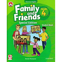 Family And Friends (Ame. Engligh) (Special Ed.) Grade 4: Student Book With CD