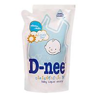 Dung Dịch Giặt Quần Áo Cho Bé D-Nee - Túi 600ml (Xanh)