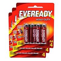 Bộ 3 Vỉ Pin AA Eveready 1015 BP4 - 8888021100082