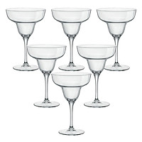 Bộ 6 Ly Rượu Thủy Tinh Ypsilon Margarita Bormioli Rocco 166440M76021990 (330ml / Ly)