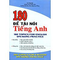 180 Đề Tài Nói Tiếng Anh