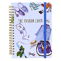 Sổ Lò Xo Lover Journal - The Fashion Lover