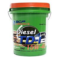 Nhớt Động Cơ Diesel BCP TD1 CF4/SJ 15W40 (18 Lít)