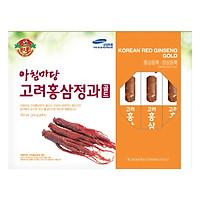Thực Phẩm Chức Năng Sâm Tẩm Mật Ong Korean Red Gingseng Gold (Hộp 8 Củ)