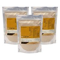 Combo 3 Bột Cám Gạo Nguyên Chất Milaganics (100g / Gói)