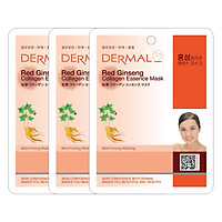 Combo 3 Mặt Nạ Dermal Tinh Chất Collagen Với Chiết...
