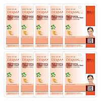 Combo 10 Mặt Nạ Dermal Tinh Chất Collagen Với Chiết...