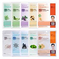 Combo 10 Mặt Nạ Dermal Tinh Chất Collagen Các Loại
