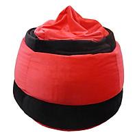 Ghế Lười Hình Giọt Nước Phú Mỹ GH-GINU-NDDE-120 (Đỏ Đen)