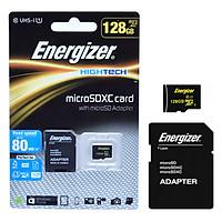 Thẻ Nhớ Energizer 128GB Micro SDXC Class 10 Up To 80mb/s (Kèm Adapter) FMDAAH128A - Hàng Chính Hãng