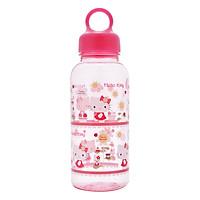 Bình Nước Bằng Nhựa Lock&Lock Hello Kitty Flower LKT623F (350ml)