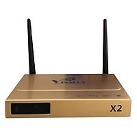 Android Tivi Box Vinabox X2 (Vàng) – Hàng Chính Hãng