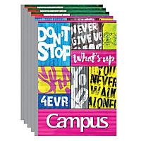 Lốc 5 Cuốn Vở Kẻ Ngang Campus Believable NB-BBLV80 (80 Trang)