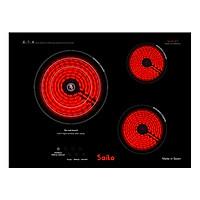 Bếp Hồng Ngoại Saiko IC-5700C (3 bếp) - Đen - Hàng chính hãng