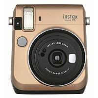 Máy Ảnh Selfie Lấy Liền Fujifilm Instax Mini 70 - Vàng Đồng - Hàng Chính Hãng