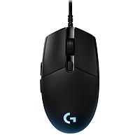 Chuột Chơi Game Có Dây Logitech G Pro Gaming 12000DPI RGB 6 Phím 910-005127 - Hàng Chính Hãng