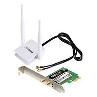 Card Mạng Wi-Fi PCI-e Băng Tần Kép AC1200 TOTOLINK A1200PE - Hàng Chính Hãng
