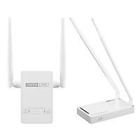 Router Wi-Fi Chuẩn N 300Mbps N300RH Và Kích Sóng Wifi TOTOLINK EX200 - Hàng Chính Hãng