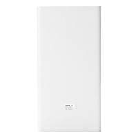 Pin Sạc Dự Phòng Xiaomi Mi Power Bank 20000 mAh (Trắng) - Hàng Chính Hãng