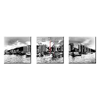 Tranh Đồng Hồ Treo Tường Bộ Đôi Thế Giới Tranh Đẹp Q22-OM-387-DH