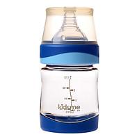 Bình Sữa Cổ Rộng PPSU Kidsme 160226AQ (120ml) - Màu Xanh Biển