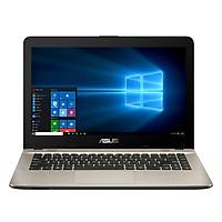 Laptop Asus X441NA-GA017 - Celeron N3350/Freedos (14 inch) - Đen - Hàng Chính Hãng