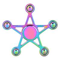 Con Quay Ngôi Sao 7 Màu - Rainbow Star Spinner CQ22 - Hàng Nhập Khẩu