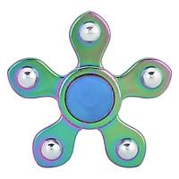 Con Quay Bi 5 Cánh 7 Màu - Rainbow 5 Balls Spinner CQ52 - Hàng Nhập Khẩu