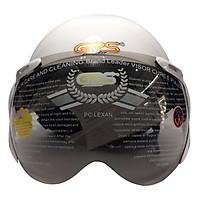 Mũ Bảo Hiểm GRS A33K - Trắng Bóng