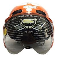 Mũ Bảo Hiểm GRS A102K - Cam Line Trắng