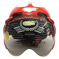 Mũ Bảo Hiểm GRS A102K - Đỏ Line Trắng