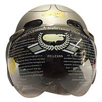 Mũ Bảo Hiểm GRS A102K - Ghi Nhám Line Ghi